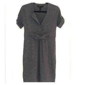 BCBG Merino Wool Short Sleeve Sweater Dress